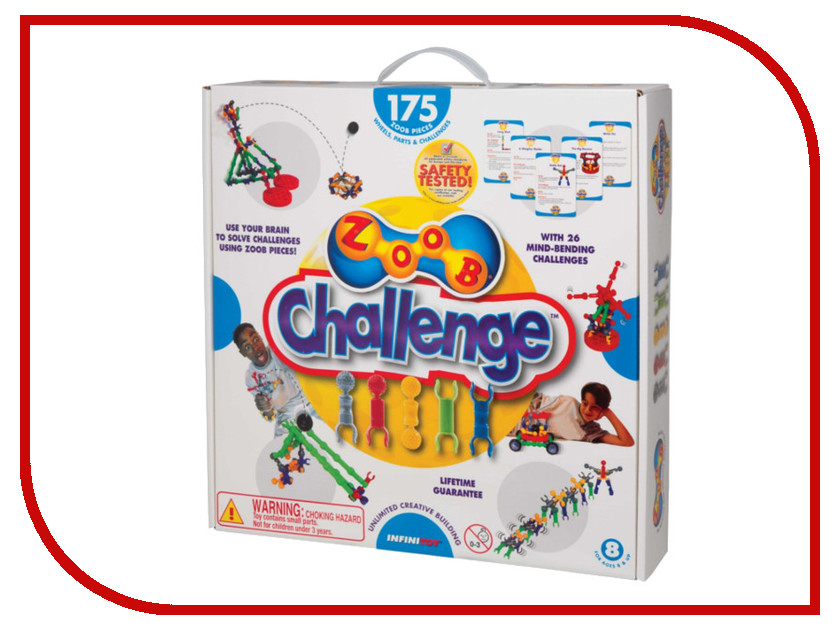 Игрушка Конструктор ZOOB Challenge 175 11175<br>