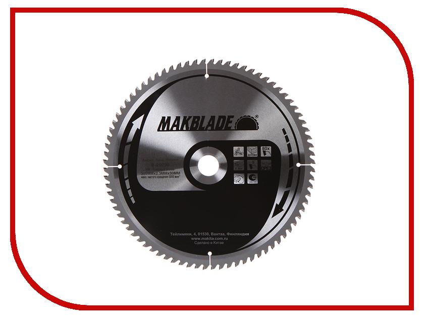 Диск Makita Standart B-29290 пильный по дереву, 305x2.3x30mm, 80 зубьев<br>