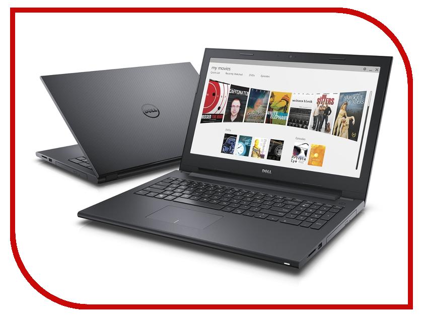 Ноутбук Dell Inspiron 3543 Black 3543-9756 (Intel Core i5-5200U 2.2 GHz/4096Mb/500Gb/DVD-RW/nVidia GeForce 920M 2048Mb/Wi-Fi/Bluetooth/Cam/15.6/1366x768/Linux)<br>