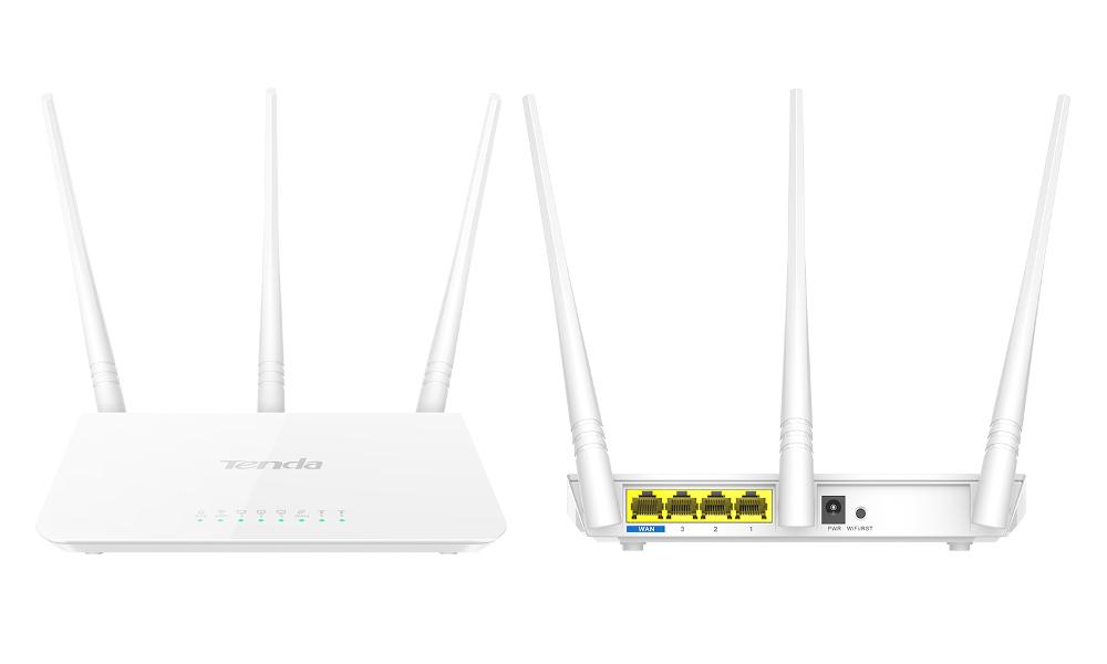 Wi-Fi роутер Tenda F3 wi fi роутер tenda f3 f3