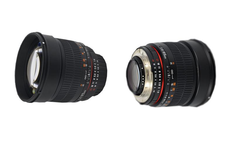 Объектив Samyang Nikon MF AE 85 mm F/1.4 AS IF UMC