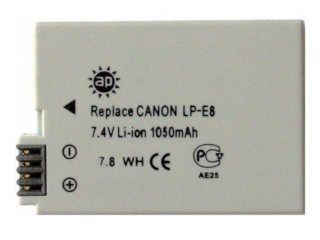 Аккумулятор AcmePower AP-LP-E8 для Canon