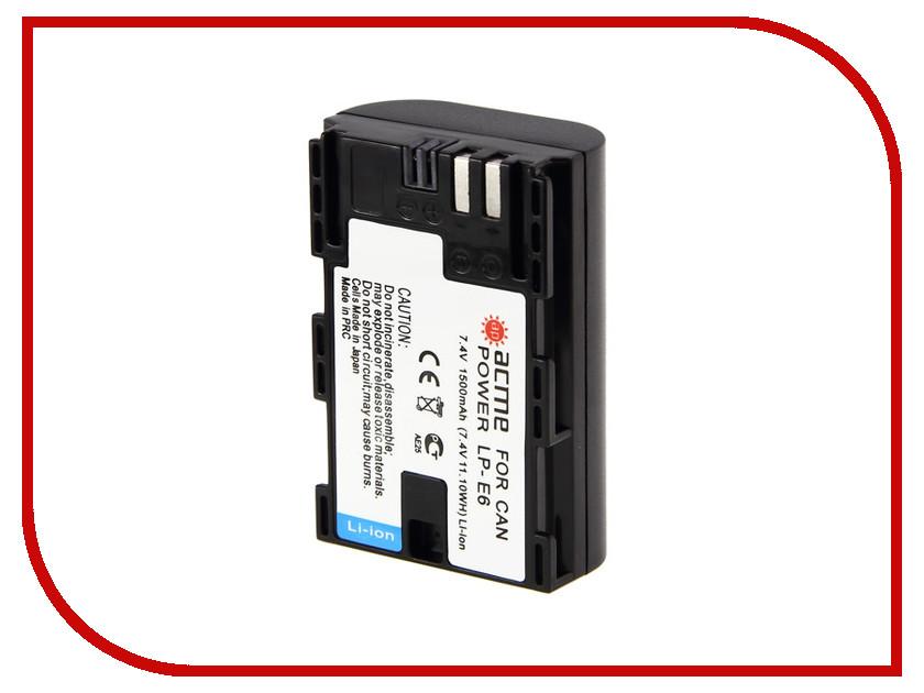 Аккумулятор AcmePower AP LP-E6 / Dicom DC-E6