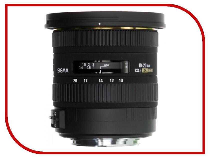 Объектив Sigma AF 10-20mm f/3.5 EX DC HSM Canon EF-S sigma 10 20 mm f 3 5 ex dc hsm wide angle lens for canon 1300d 600d 700d 750d 760d 60d 70d 80d t3i t5i t6 t6s