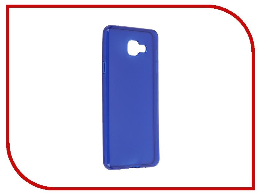 Аксессуар Чехол-накладка Samsung Galaxy A7 2016 Gecko Blue S-G-SGA7-2016-DBLU<br>