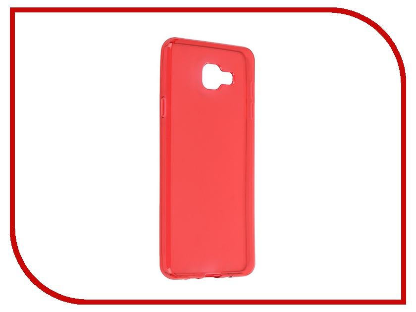 Аксессуар Чехол-накладка Samsung Galaxy A7 2016 Gecko Red S-G-SGA7-2016-RED