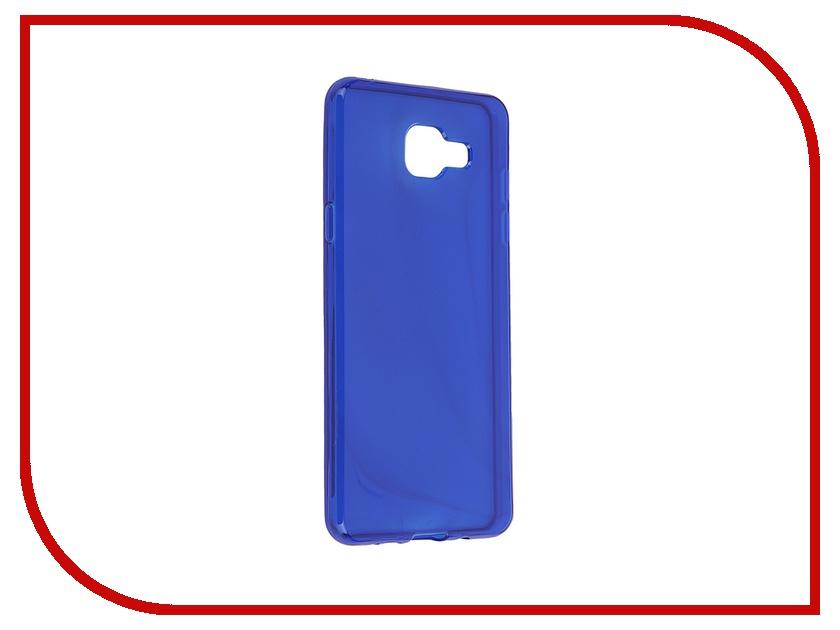 Аксессуар Чехол-накладка Samsung Galaxy A5 2016 Gecko Blue S-G-SGA5-2016-DBLU<br>