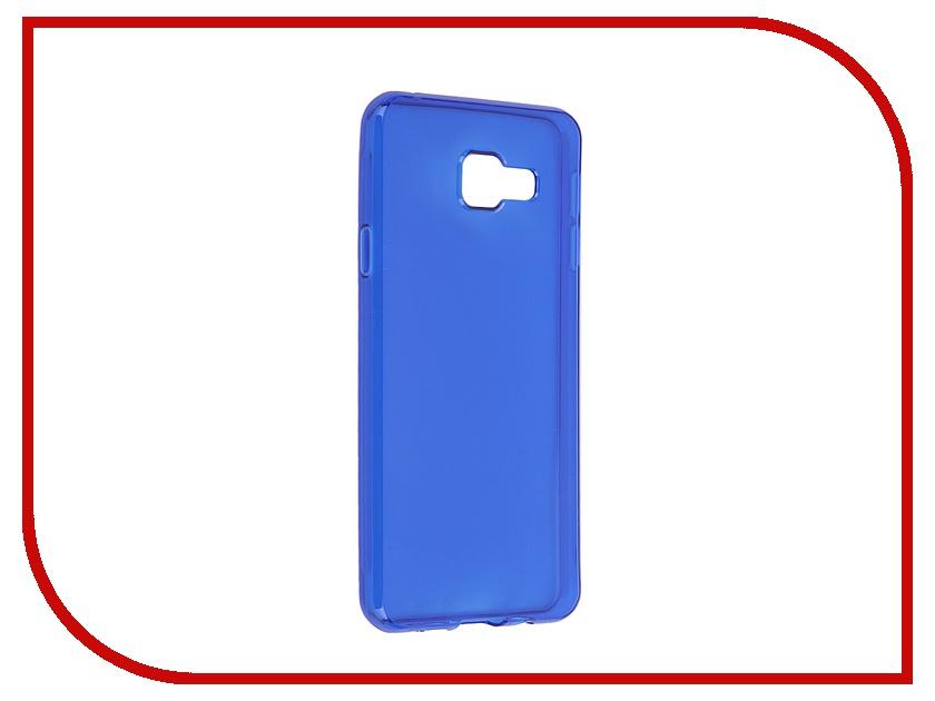 Аксессуар Чехол-накладка Samsung Galaxy A3 2016 Gecko Blue S-G-SGA3-2016-DBLU<br>