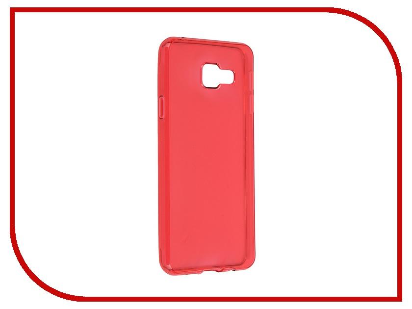 Аксессуар Чехол-накладка Samsung Galaxy A3 2016 Gecko Red S-G-SGA3-2016-RED<br>