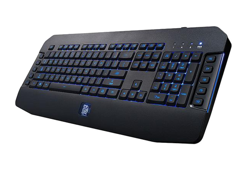 купить Клавиатура Tt eSports Challenger GO Black KB-VEL-MBBLRU-01 USB по цене 3740 рублей