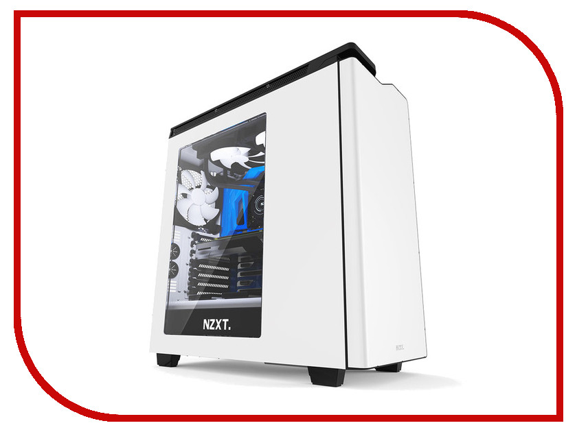 Корпус NZXT H440 White-Black CA-H442W-W1 airline ca 030 01