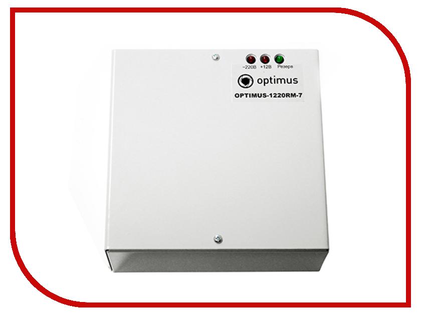 Аксессуар Optimus 1220-RM-7 блок питания<br>