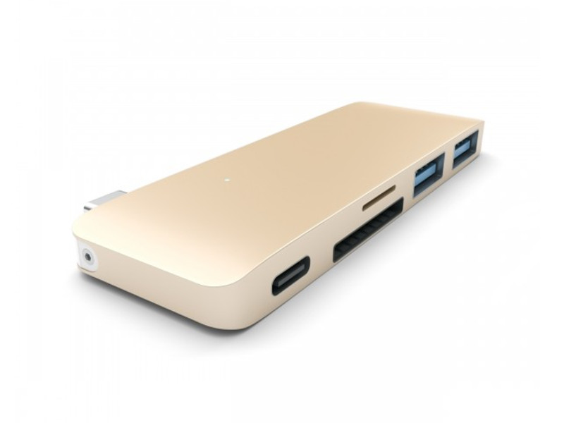 Satechi Combo Hub 3 in 1 USB Type-C 3.0 Gold B019PHF9UO