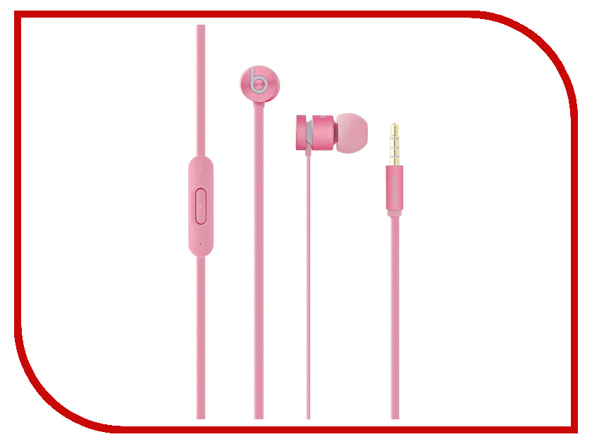 Гарнитура APPLE In-Ear Headphones Beats urBeats Pink MH9U2ZM/A<br>