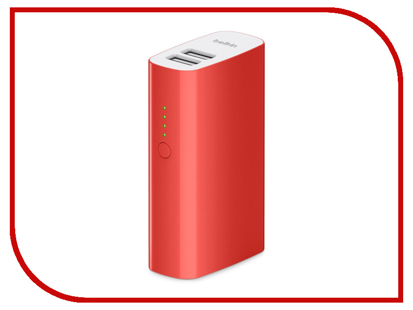 Аккумулятор Belkin Mixit Power Pack 4000 mAh Red F8M979btRED<br>