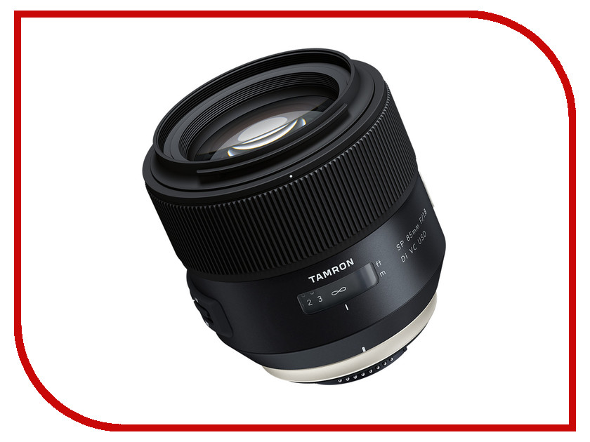 Объектив Tamron Nikon SP 85 mm F/1.8 Di VC USD объектив tamron canon sp 15 30 mm f 2 8 di vc usd