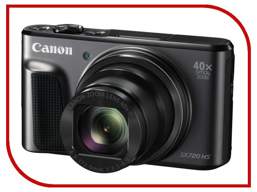 Фотоаппарат Canon PowerShot SX720 HS Black<br>