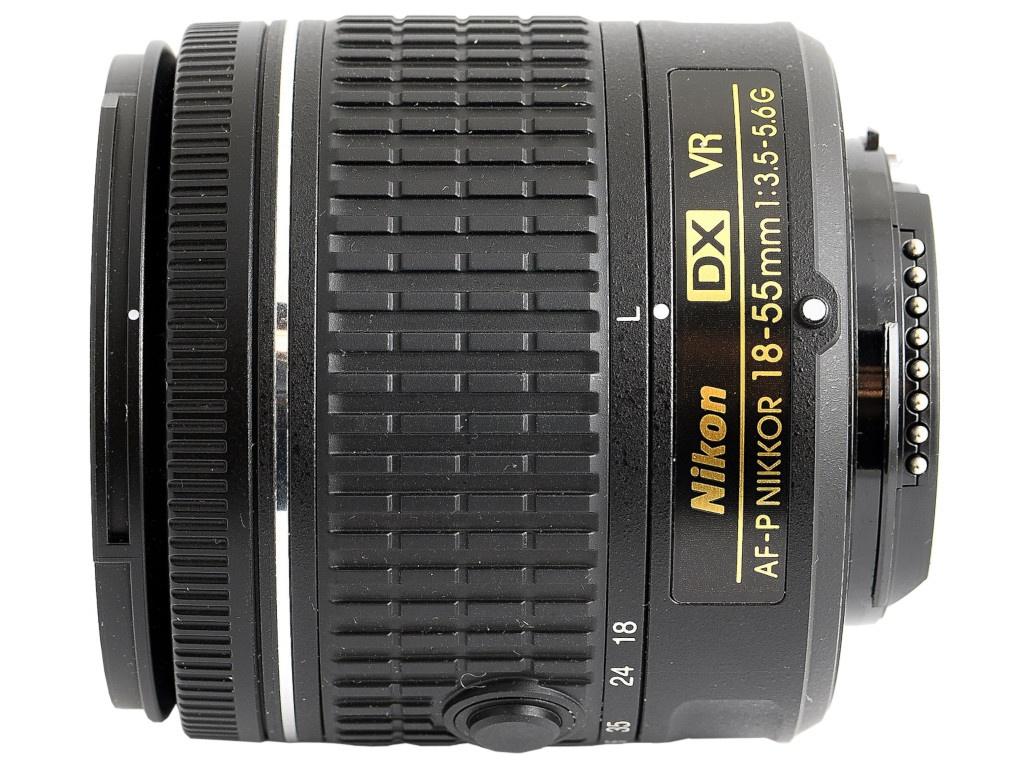 Объектив Nikon AF-P DX Nikkor 18-55 mm F/3.5-5.6G VR фото
