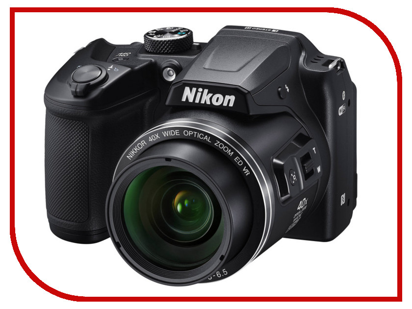 Фотоаппарат Nikon B500 Coolpix Black<br>