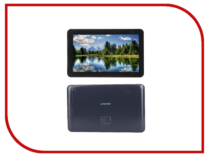 Планшет Digma Optima D10.4 3G Black TT1002MG Mediatek MT8321 1.2 GHz/1024Mb/8Gb/Wi-Fi/3G/Bluetooth/Cam/10.1/1024x600/Android 326728<br>