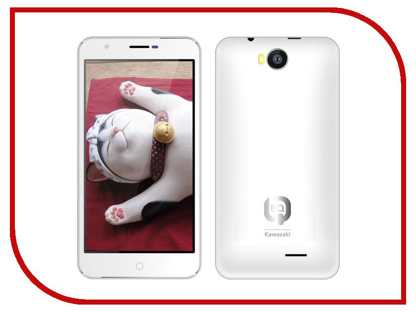Сотовый телефон BQ BQS-5501 Kawasaki White