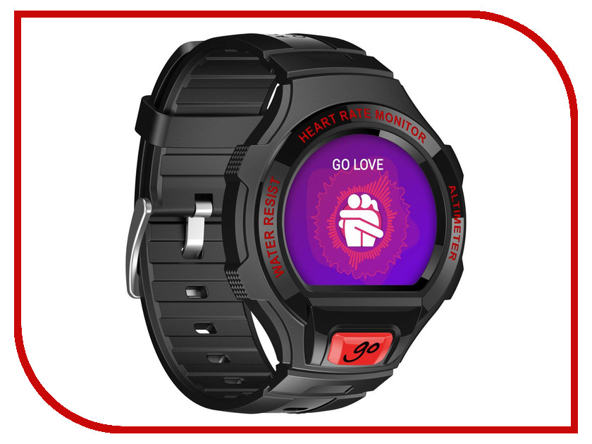 ����� ���� Alcatel OneTouch Watch Go SM03 Black-Red