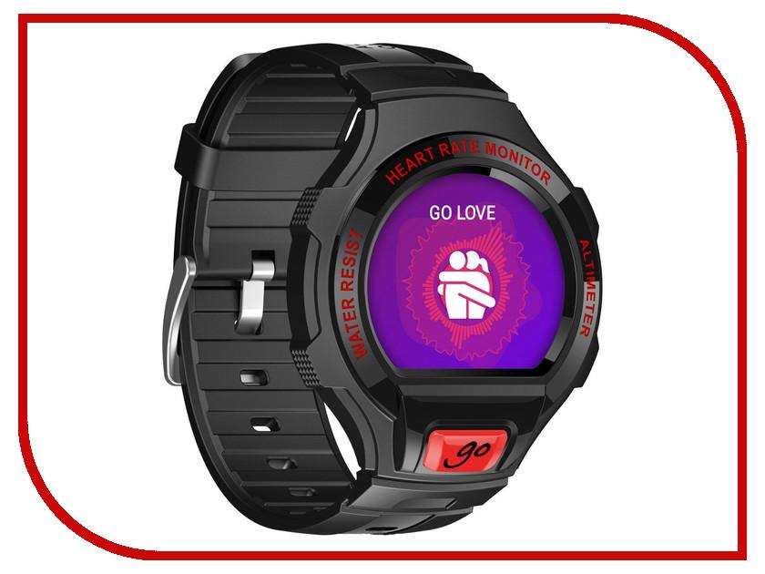 Умные часы Alcatel OneTouch Watch Go SM03 Black-Red