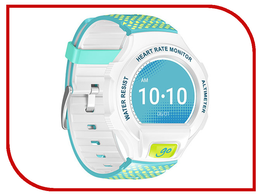 ����� ���� Alcatel OneTouch Watch Go SM03 White-Lime