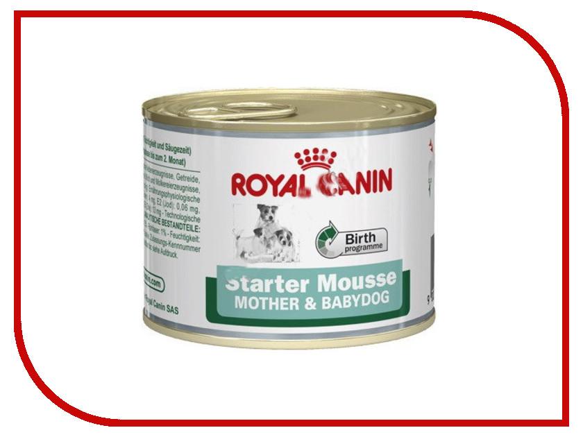 Корм ROYAL CANIN Starter Mousse 195g для собак 32759
