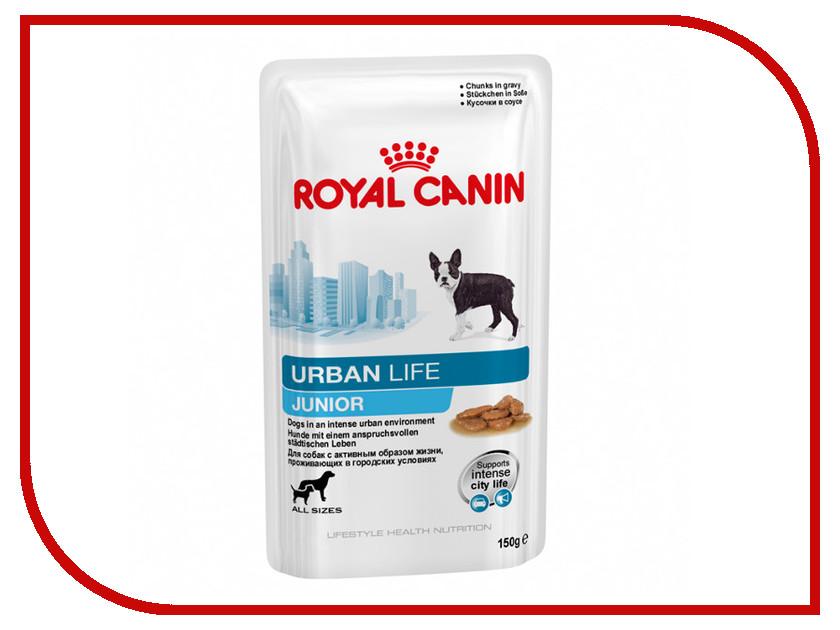 Корм ROYAL CANIN Urban Life Junior 150g для кошек 57331
