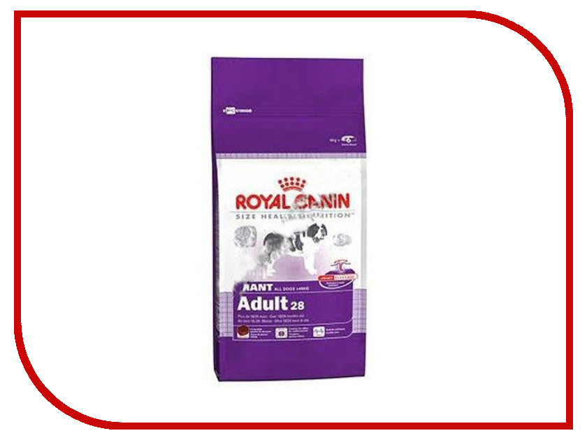 Корм ROYAL CANIN Giant Adult 4kg для собак 00608<br>