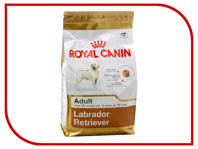 Корм ROYAL CANIN Labrador Retriever 3kg для собак 00617<br>
