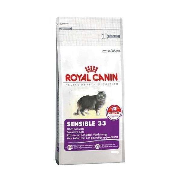 Корм ROYAL CANIN Sensible 33 400g для кошек