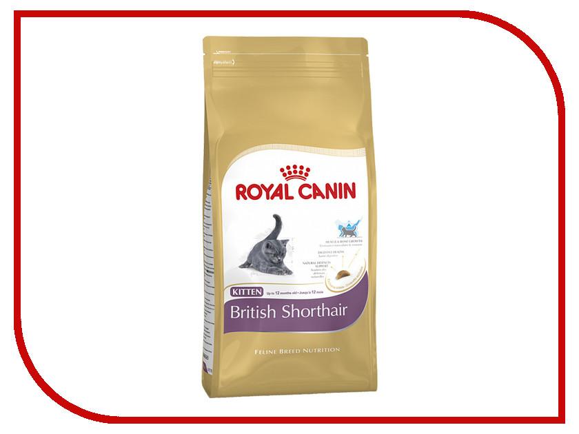 Корм ROYAL CANIN Kitten British Shorthair 34 400g для котят 52832 / 541004