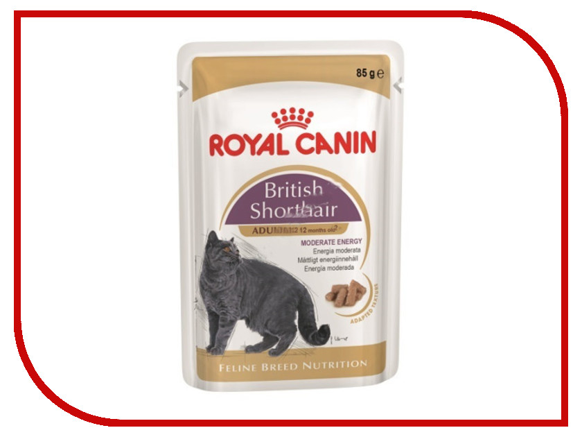 Корм ROYAL CANIN British Shorthair 85g для кошек 60581
