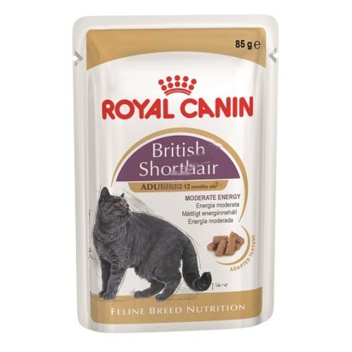 Корм ROYAL CANIN British Shorthair 85g 60581 для кошек<br>
