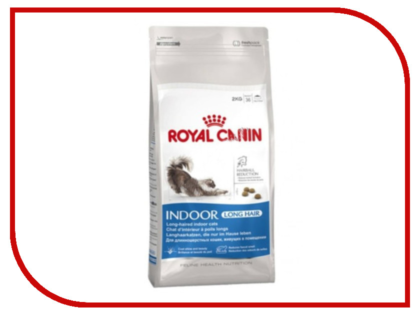 Корм ROYAL CANIN Indoor Long Hair 400g для кошек 21519 / 61978<br>