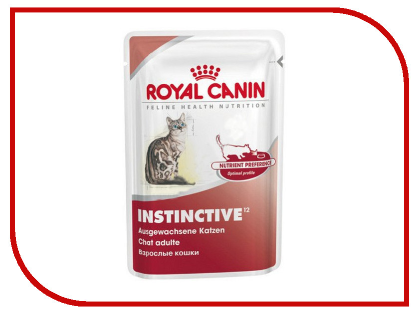 Корм ROYAL CANIN Instinctive 85g для кошек 46761<br>