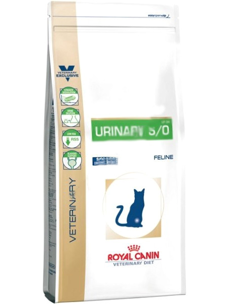 Корм ROYAL CANIN VET Urinary Feline SO 400g для кошек 21997
