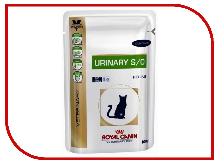 Корм ROYAL CANIN VET Urinary Feline 100g для кошек 22266<br>