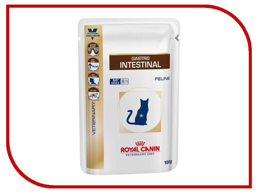 Корм ROYAL CANIN VET Gastro Intestinal 100g для кошек 22274<br>