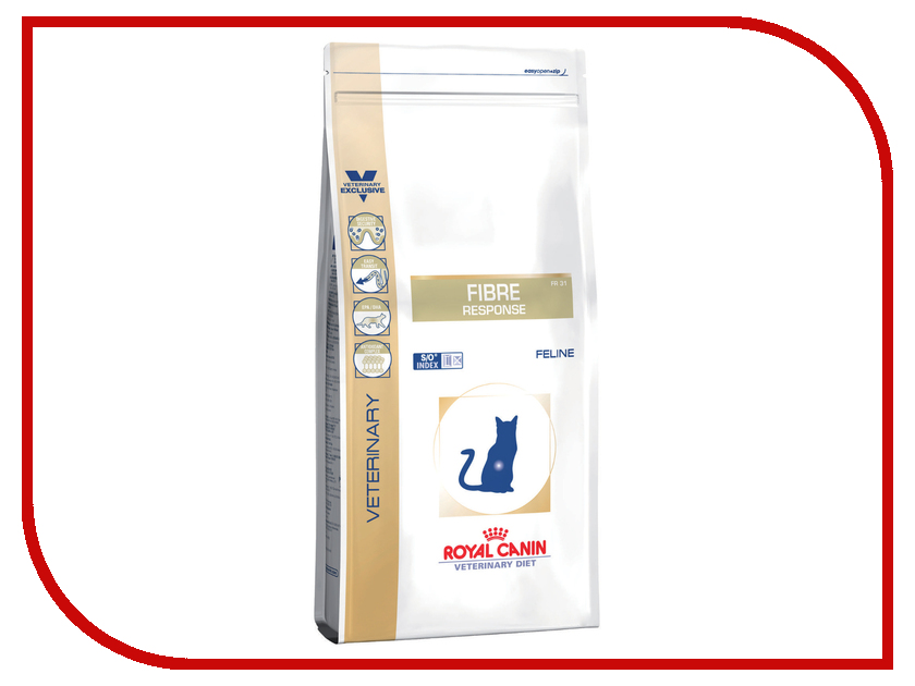 Корм ROYAL CANIN VET Fibre Response FR31 2kg для кошек royal canin royal canin exigent protein preference