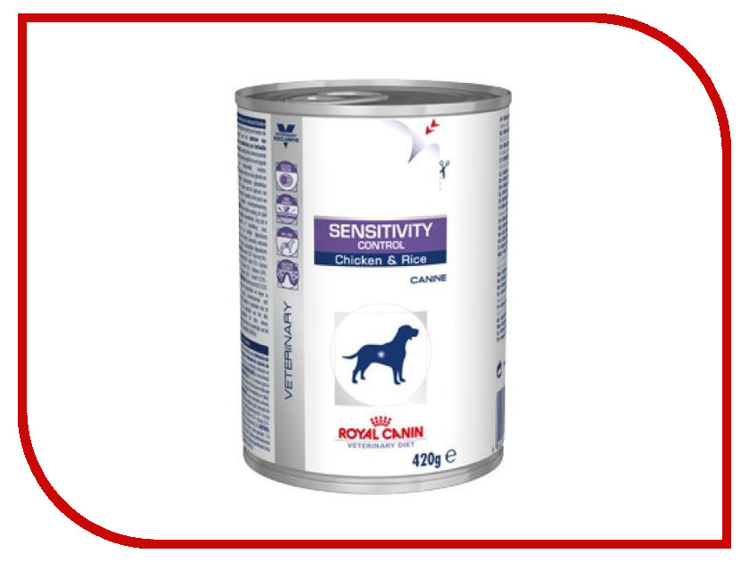 Корм ROYAL CANIN VET Sensitivity Control 400g для собак 22285 royal canin sensitivity control диетический консервированный корм для собак 420 г