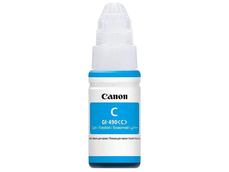 цены Чернила Canon GI-490C Cyan 0664C001