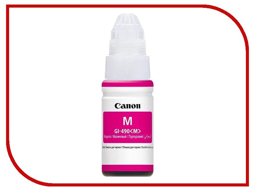 Тонер Canon GI-490M Magenta 0665C001 holika holika