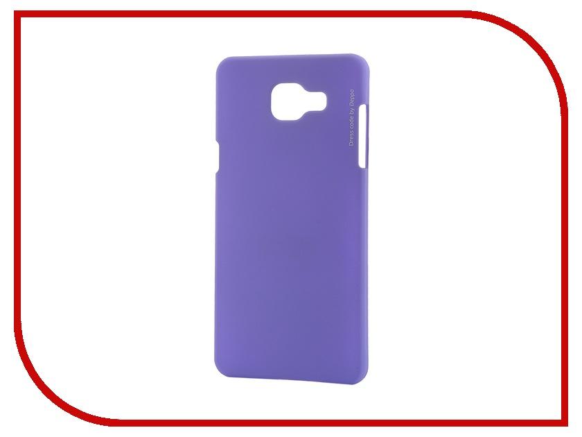 Аксессуар Чехол-накладка Samsung Galaxy A5 2016 Deppa Air Case + защитная пленка Purple 83230<br>