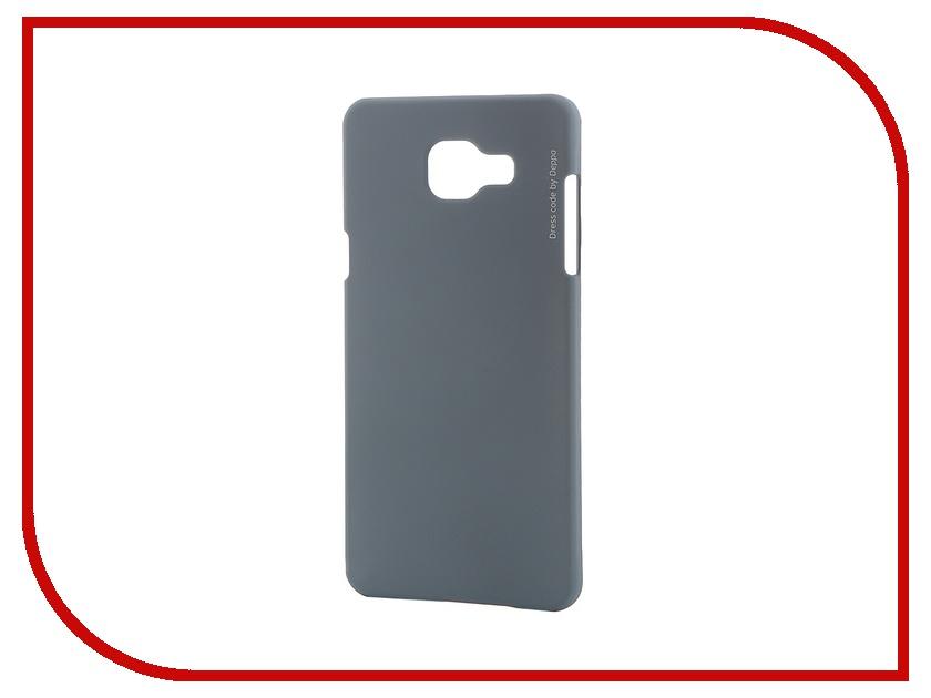 Аксессуар Чехол-накладка Samsung Galaxy A5 2016 Deppa Air Case + защитная пленка Grey 83232