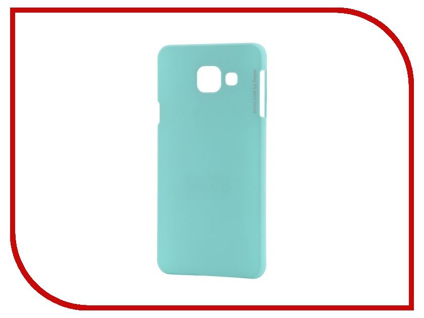 Аксессуар Чехол-накладка Samsung Galaxy A3 2016 Deppa Air Case + защитная пленка Mint 83226