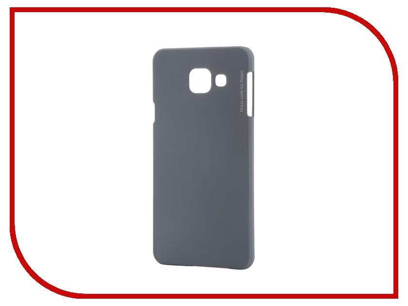 Аксессуар Чехол-накладка Samsung Galaxy A3 2016 Deppa Air Case + защитная пленка Grey 83227