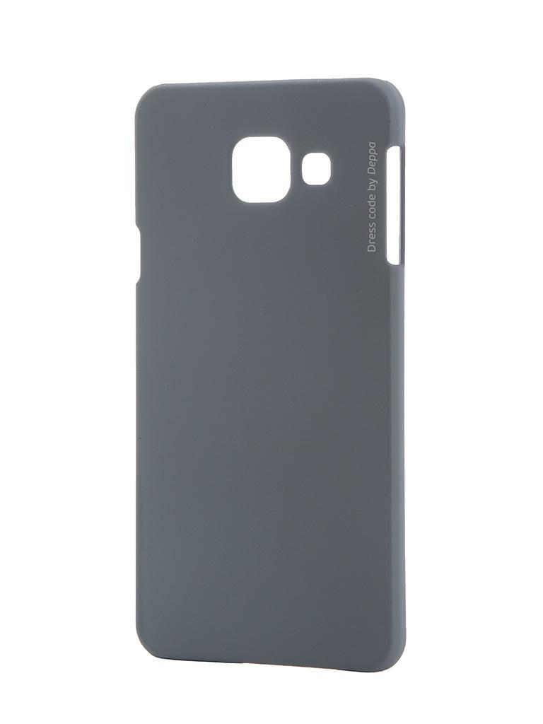 ��������� �����-�������� Samsung Galaxy A3 2016 Deppa Air Case + �������� ������ Grey 83227